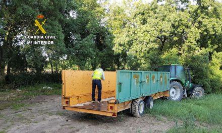 La Guardia Civil encuentra material robado en una finca municipal de Talayuela