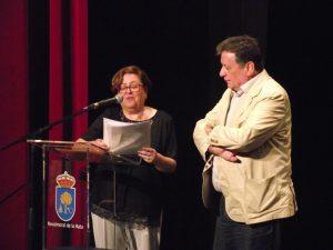 Rosa Bautista y Luis Landero