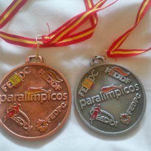 Medallas Toni Franco enBurgos