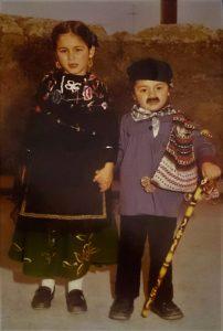 Raquel y su hermano