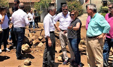 La presidenta de la Diputación se persona en Valverde