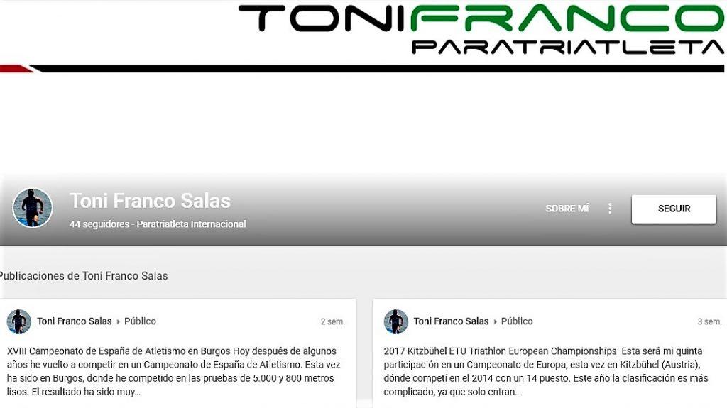 Google+ Toni Franco