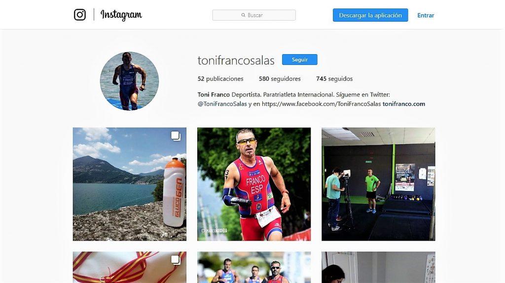 Instagram Toni Franco