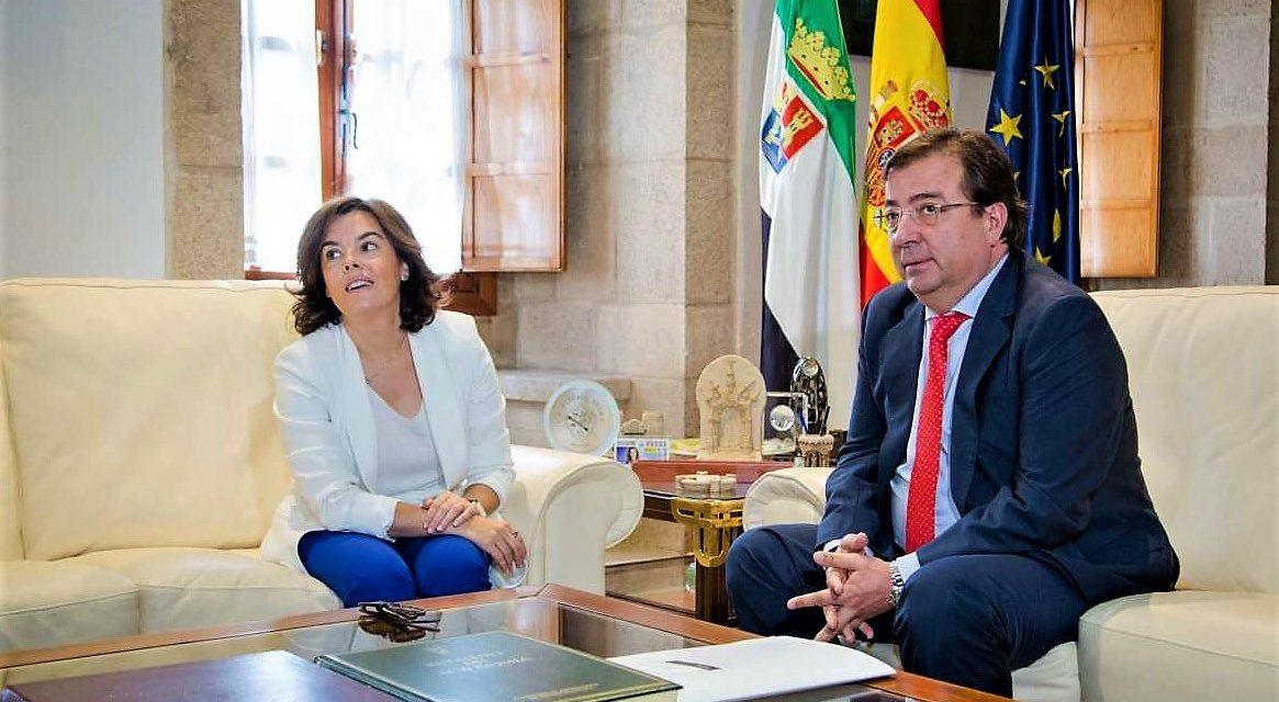 Saéz y Vara hablan sobre el tren y las alternativas energéticas