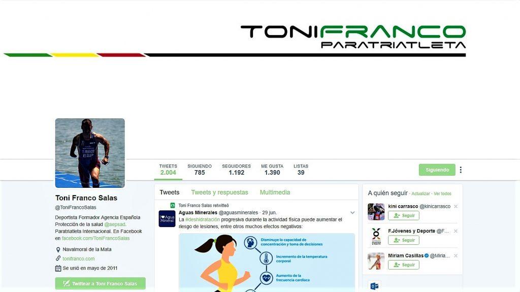 Twitter Toni Franco