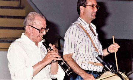 El folclorista Félix Contreras recibe un homenaje en Ávila