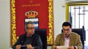 Pleno Bohonal Alcalde y Secretario