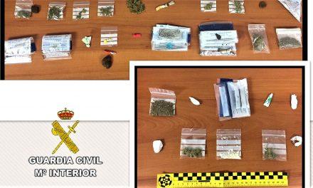 La Guardia Civil levanta más de 50 actas por droga en Aldeanueva