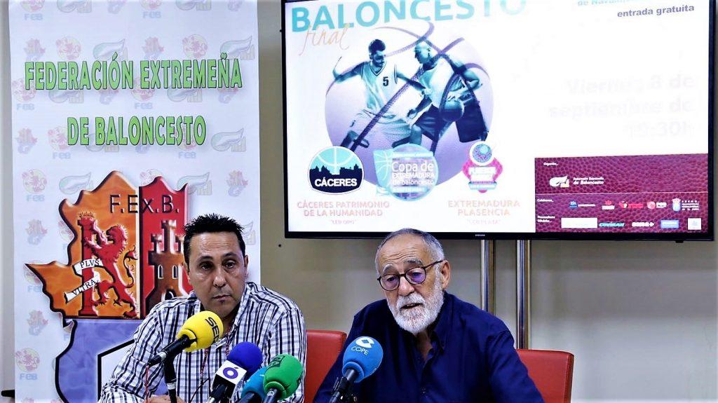 Final Copa de Extremadura 2017 presentación