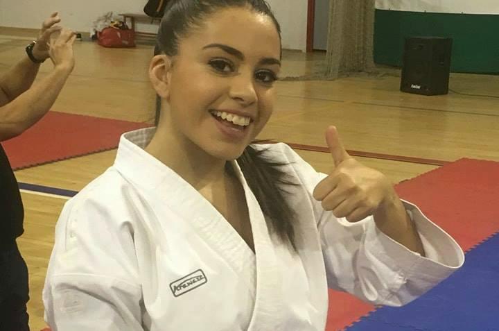 La karateka Lydia Curiel de Almaraz gana en Sevilla