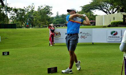 El moralo Agustín Prieto, golfista amateur internacional