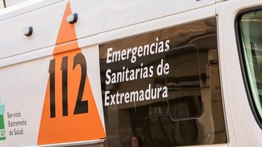 Fallece un varón en un accidente de tráfico en la carretera de Tiétar a Santa María de las Lomas