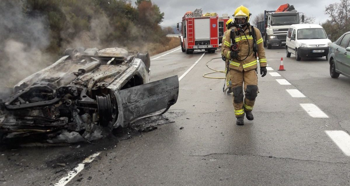 Un fallecido y 314 accidentes registrados en Extremadura durante la campaña de tráfico de Navidad