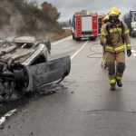 Una mujer herida grave y otra leve, en las Cuestas de Torreseca