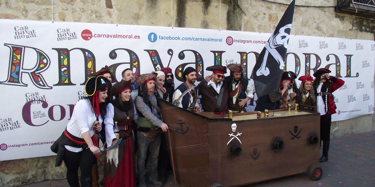 Cómete el Carnavalmoral por una pata 2018 reparte casi 100 jamones