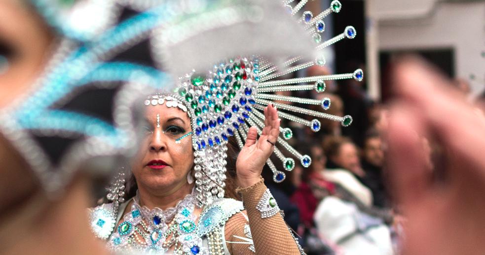 Miradas y retratos de Minerva Talaván en el Carnavalmoral 2018