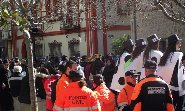 Arrancan los desfiles del carnaval moralo con los estudiantes