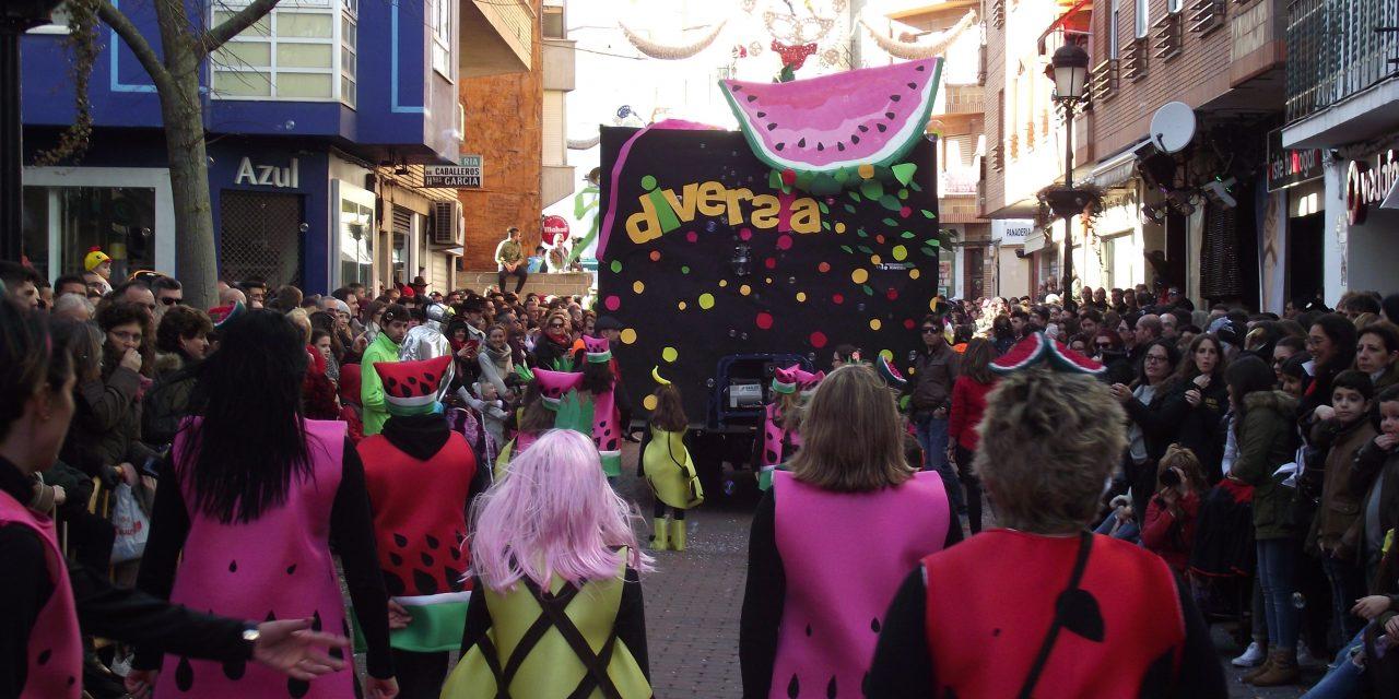 Diversia abre el plazo de inscripción para participar en su carroza del Carnavalmoral 2019