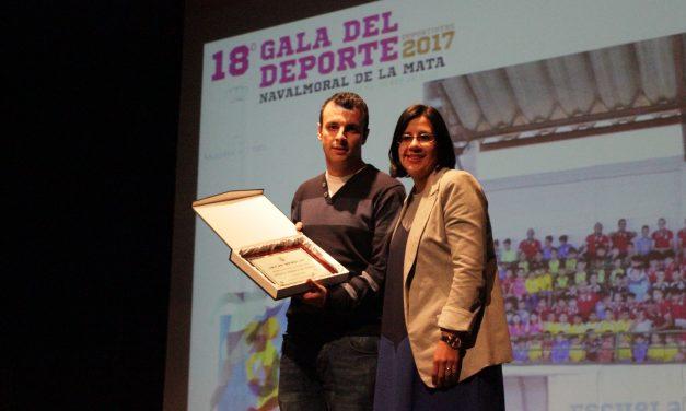 Gabriel Amado y Saray Mateos mejores deportistas individuales del 2017 en Navalmoral