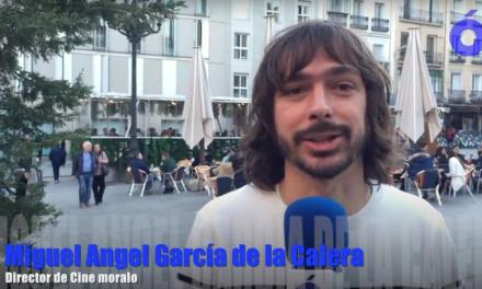 El director de cine moralo, Miguel Ángel García de la Calera, nos manda un saludo