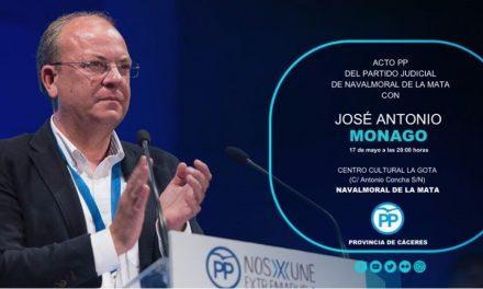 El PP del Partido Judicial de Navalmoral organiza un encuentro con Monago