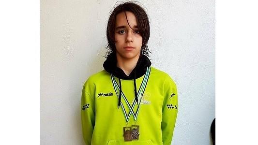 Alberto Martín, del CN Moralo, consigue oro y plata en el Trofeo Ciudad de Plasencia