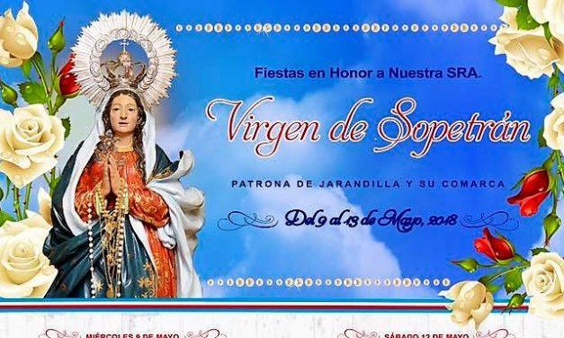 Fiestas de la Virgen de Sopetrán en Jarandilla de la Vera