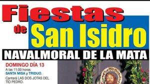 Programa de las Fiestas de San Isidro en Navalmoral @ Ermita de San Isidro de Navalmoral | Navalmoral de la Mata | Extremadura | España