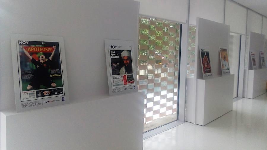"""La exposición """"Navalmoral en Portada"""" celebra el 5º aniversario de HOY Navalmoral"""