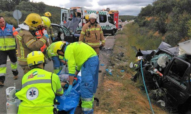El 112 atiende 31 accidentes de tráfico durante el Puente del Pilar