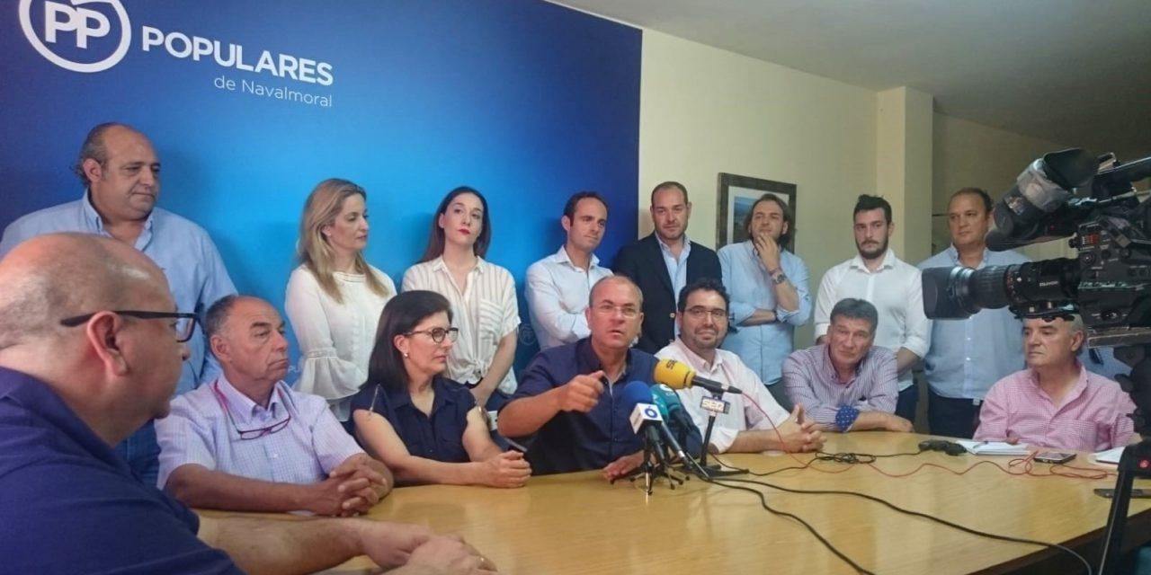 El PP recrimina a la Junta su ausencia ante los problemas del Hospital de Navalmoral, entre otros