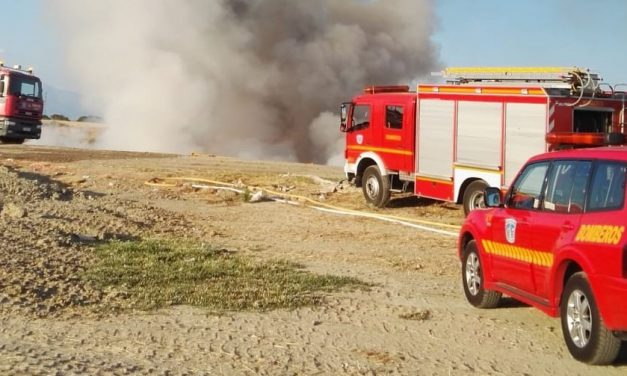 Incendio en el Ecoparque de Navalmoral
