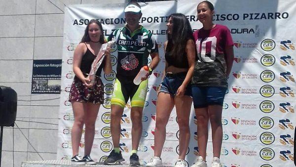 Toni Franco, campeón de la Challenge Carretera Extremadura 2018 en la categoría MC5