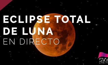 ÓRBITA Navalmoral te acerca EN RIGUROSO DIRECTO el eclipse de la Luna Roja. ¡Ponte en ÓRBITA!