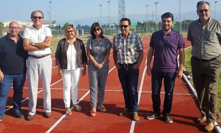 Navalmoral cuenta ya con una pista homologada para competiciones de atletismo