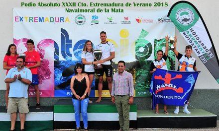 Resultados del XXXII Campeonato de Extremadura de natación 2018 celebrado en Navalmoral