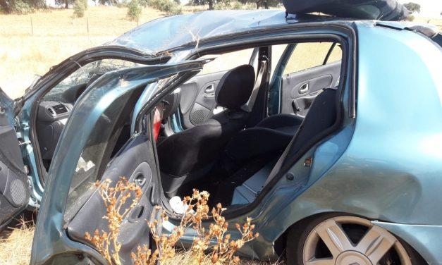 Mujer de 37 años herida grave en accidente de tráfico cerca de Peraleda de la Mata