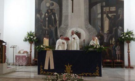 Acto de homenaje y despedida al párroco D. Felipe Sánchez