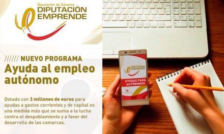 Diputación convoca ayudas de hasta 5000€ para nuevos autónomos
