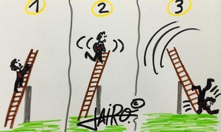 La Escalera – Las Viñetas de Jairo Jiménez