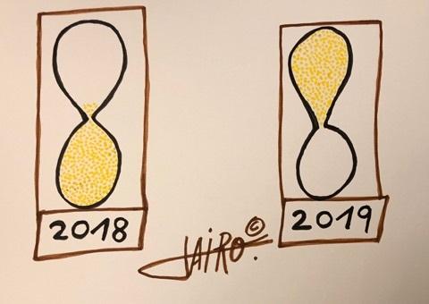Feliz Año – Las Viñetas de Jairo Jiménez