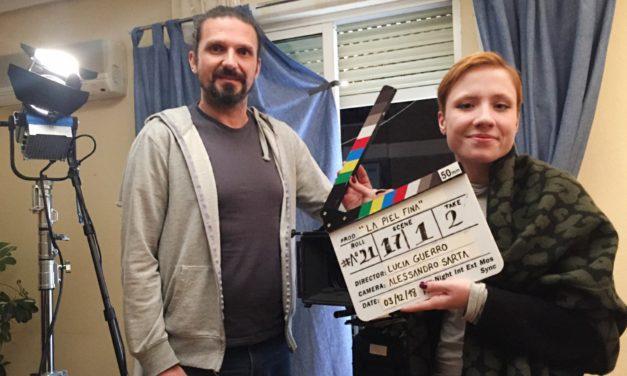 Lucía Guerro, la joven que convirtió a Navalmoral en plató de cine