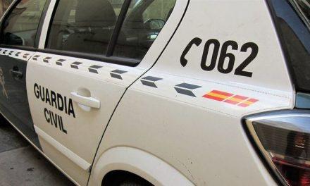 Un motorista herido grave al salirse de la vía en Jarandilla