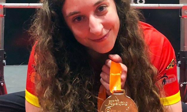 Loida Zabala, oro en el World Para Powerlifting Americas Open que se celebra en Colombia