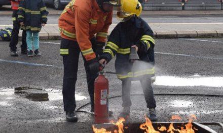 La XIII Semana de la Prevención de Incendios finalizará con la jornada de puertas abiertas en el Parque de Bomberos de Navalmoral