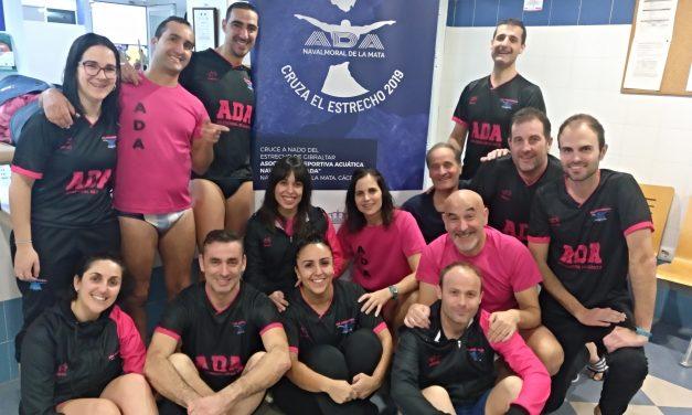 ADA organiza y participa con éxito en la 1ª jornada de la Liga Open Máster de natación