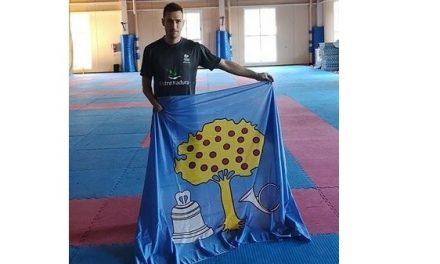 El parataekwondista Gabriel Amado se prepara para el Campeonato del Mundo de Turquía