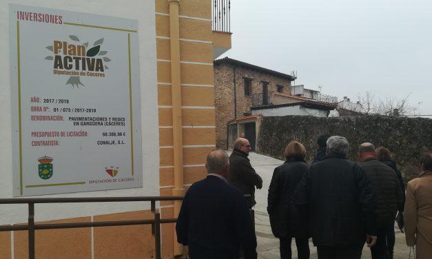 Gargüera de la Vera muestra el resultado de algunas inversiones realizadas en el municipio