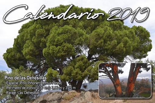 Losar de la Vera edita un calendario con sus árboles más notables