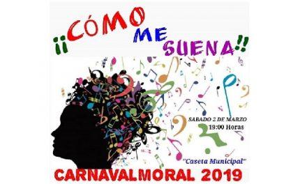 La Agrupación de Peñas organiza el IV concurso ¡¡Cómo me suena!! Carnavalmoral 2019